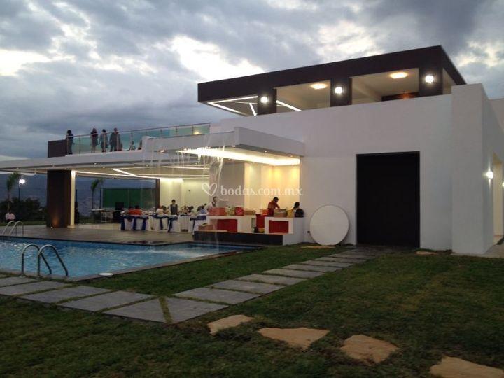 La terraza tuxtla for Terrazas para eventos