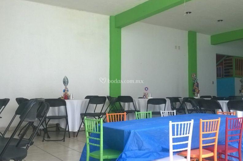 Zona de mesas