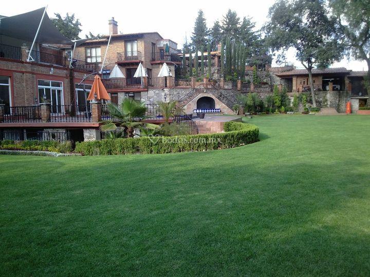 Hacienda de la condesa for Casa jardin buffet