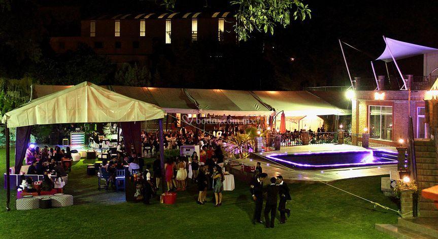 Evento de 350 personas noche