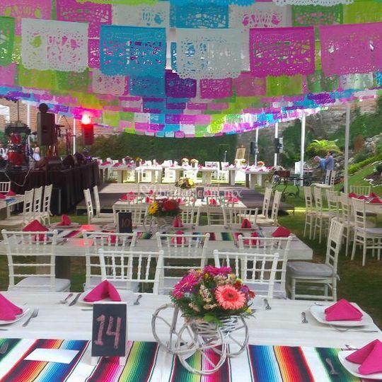 Elegante boda mexicana