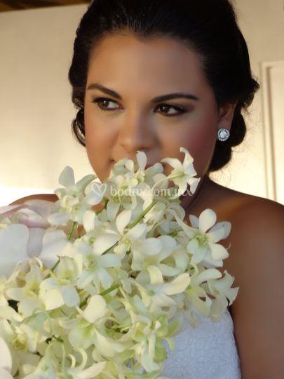 Maquillaje fotográfico novia
