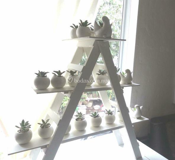 Mesa de plantas