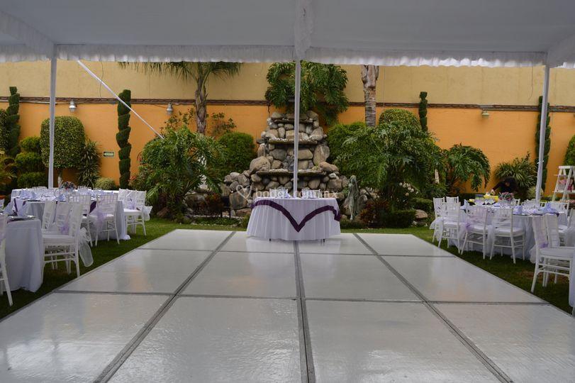Pista de baile de jard n quinta real foto 44 for Jardin quinta real