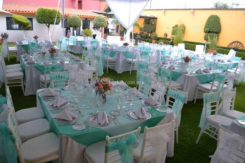 Montaje azul de jard n quinta real foto 32 for Jardin quinta real