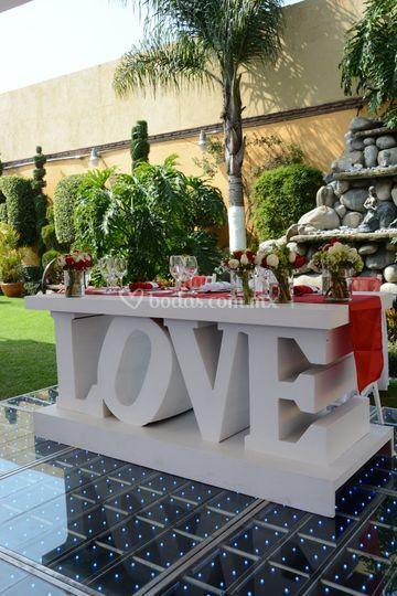 Mesa love de jard n quinta real foto 63 for Jardin quinta real