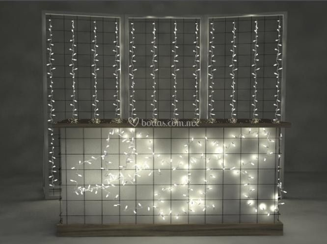 Barra con luces