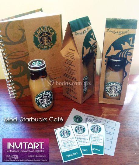 Mod. Starbucks café