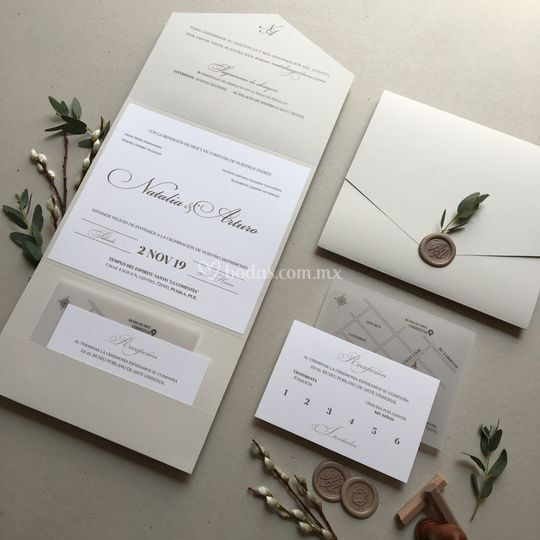 Elegante boda clásica