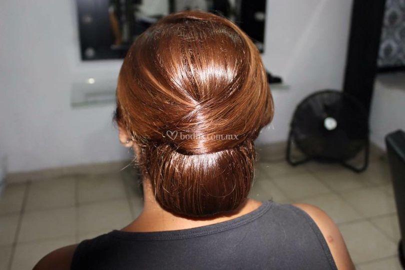 Peinado profesional