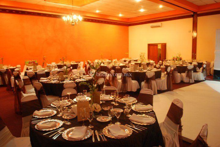 Mesas para invitados