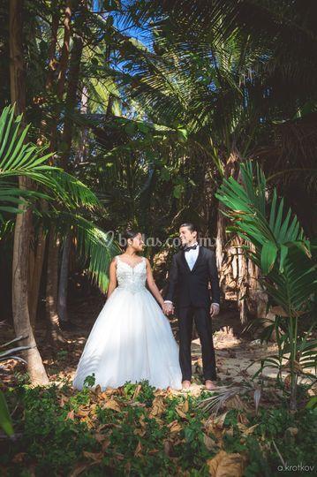 La boda en la selva