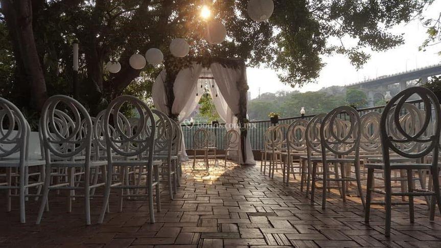 Antes de una boda civil