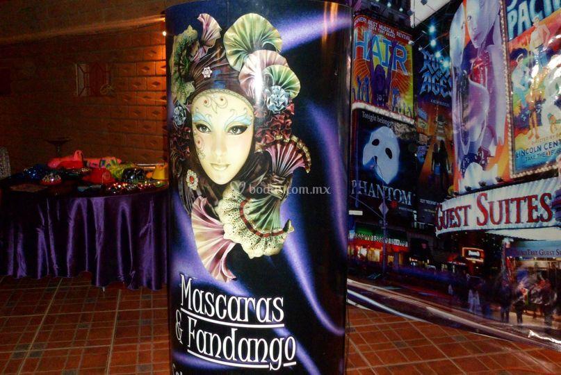 Máscaras & Fandango