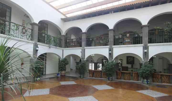 Patio central