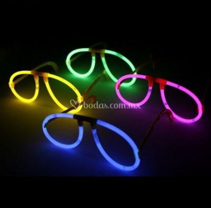 Lentes neon cyalume