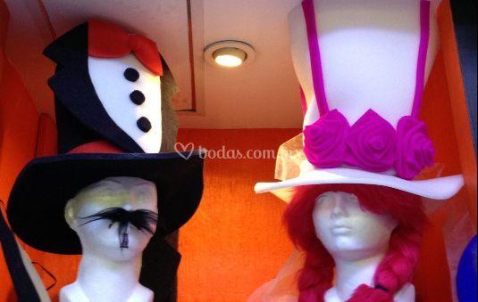 Sombreros novios