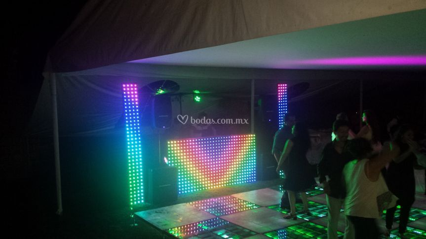 Cabina led pixel