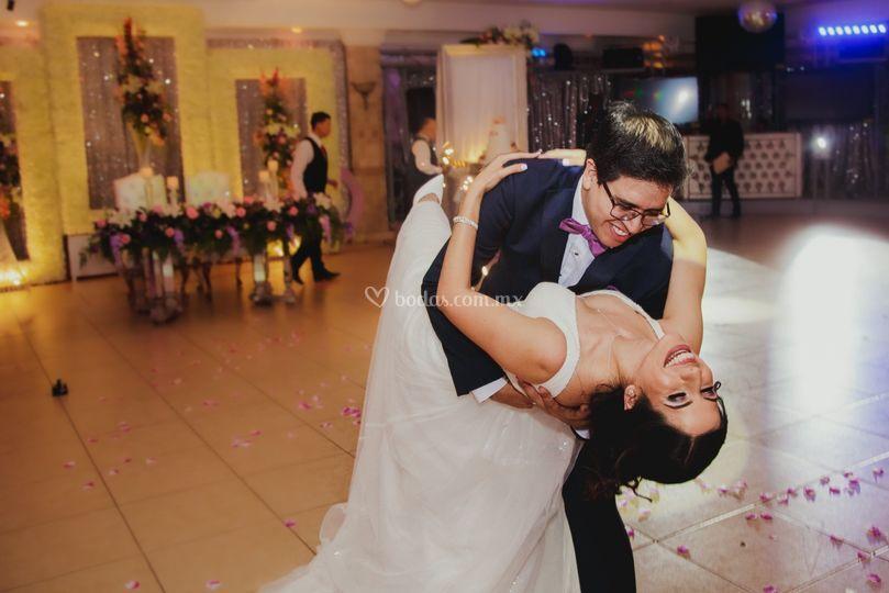 Foto durante baile