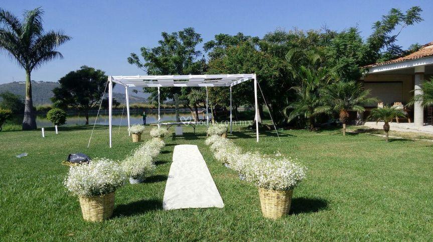 Camino para boda civil