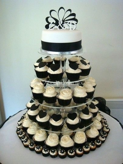 Cup cakes boda