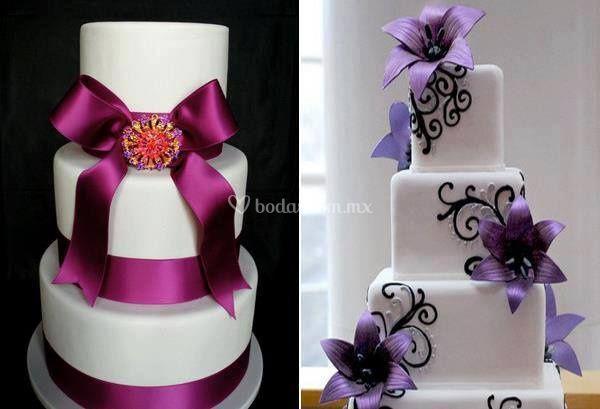 Torta violetas