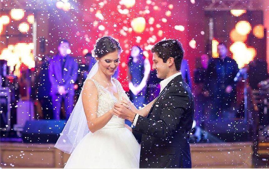 Nevada en baile de esposos