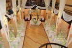Montaje verde premier de Los Arcos Banquetes