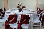 ROJO OXIDO CON ORGANZA de Los Arcos Banquetes