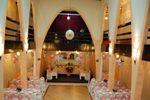 Montaje b�sico rosa de Los Arcos Banquetes