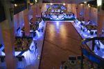 ILUMINADA GRIS ESPIRAL de Los Arcos Banquetes