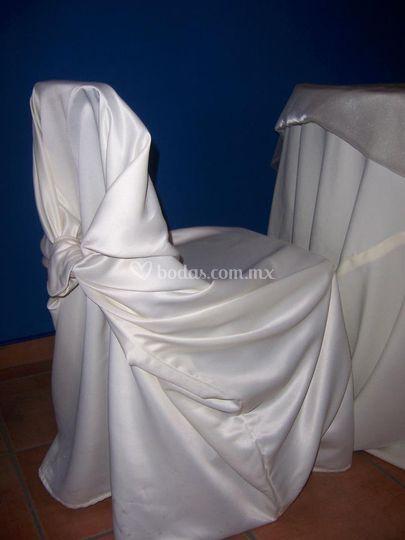 Cubre sillas fantasma