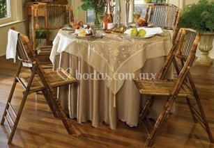 Silla de bamboo