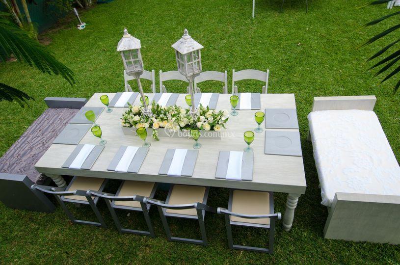 Mobiliario para eventos for Alquiler muebles para eventos