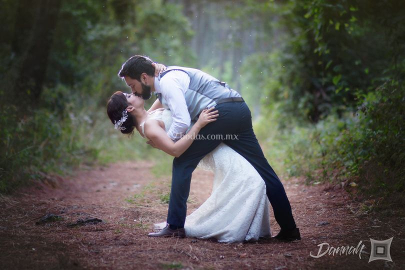 Trash the dress bosque