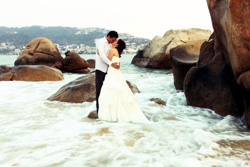 Amor en las rocas