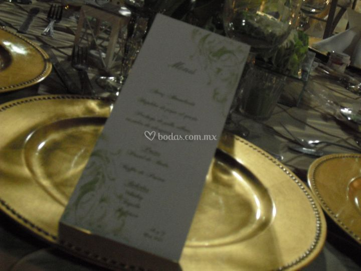 Menus exquisitos