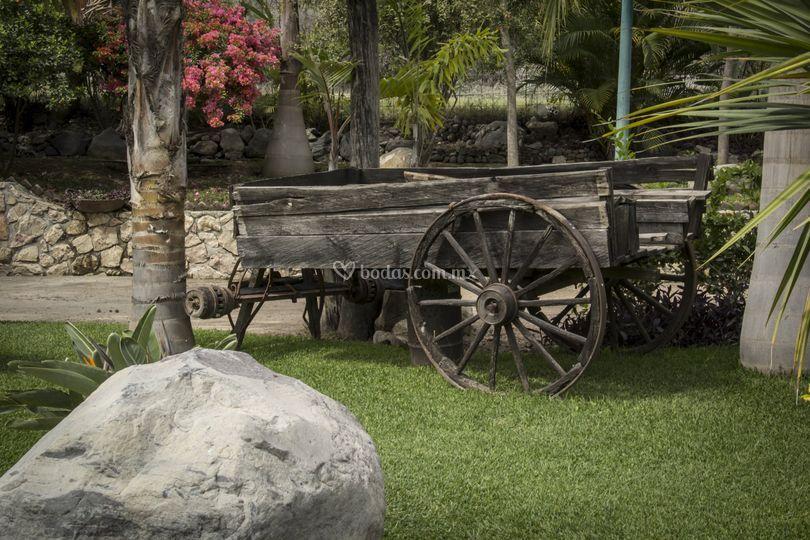 Jardín de eventos Fortezza