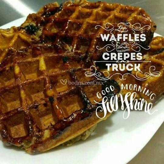 Waffles originales y caseros
