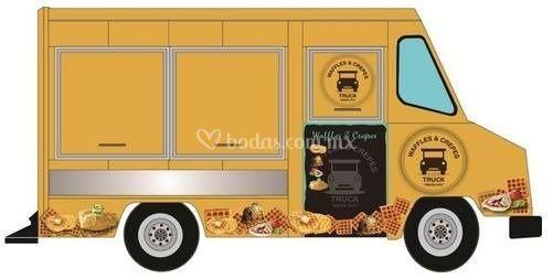 Waffles truck