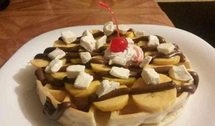 Waffle dulce Alemania