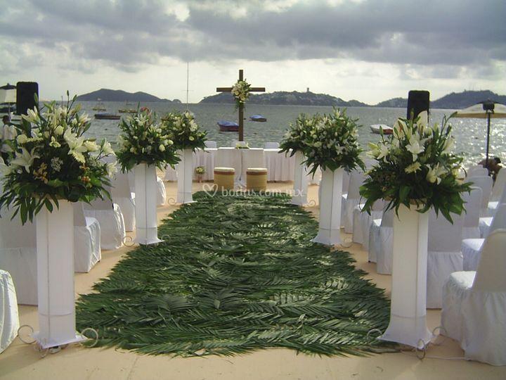 Ceremonias en playa