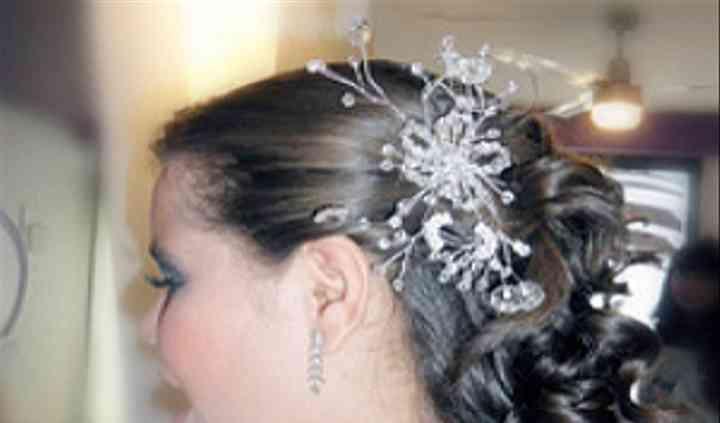 Peinado con adorno