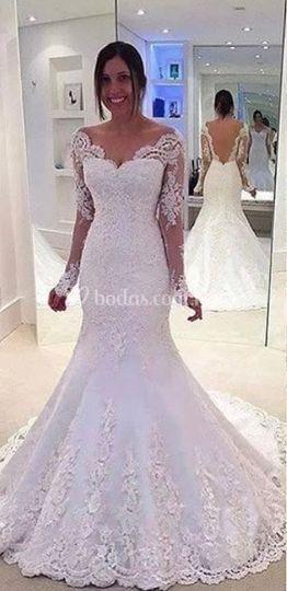 Costo de vestidos de novia en monterrey