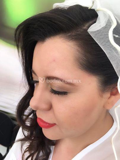 Maquillaje boda de día