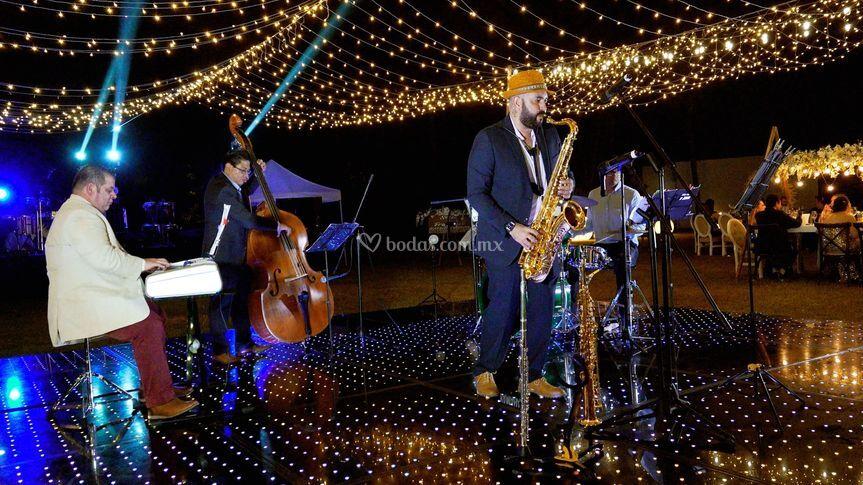 Saxofon Jazz Acapulco