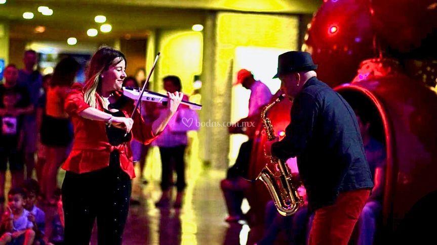 Show de violín