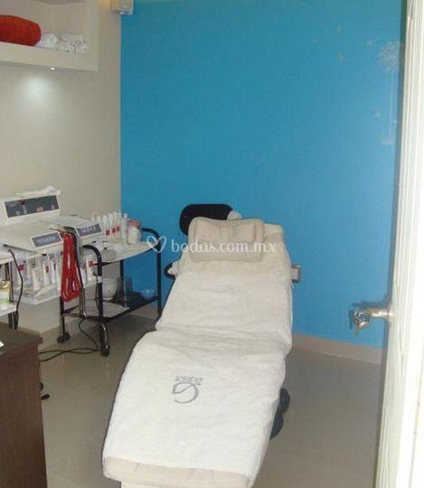 Salón para tratamientos