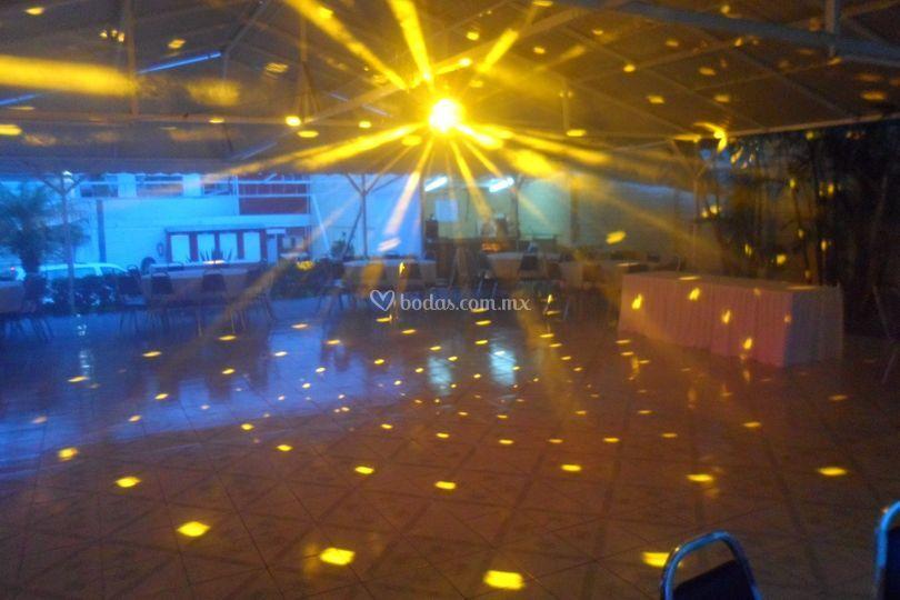 iluminacion de terraza las palmas foto 19