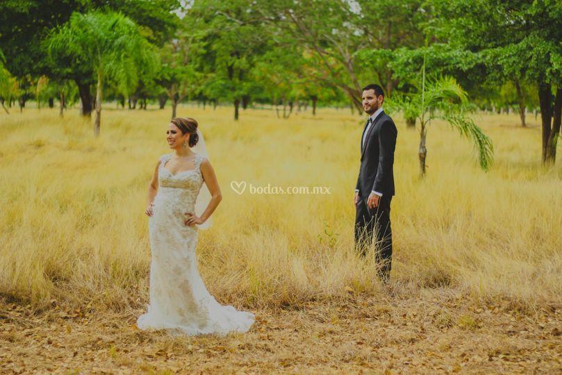 Bride y Groom
